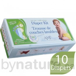 AMP One-Size Cloth Diaper Kit