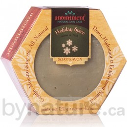 Anointment Natural Skin Care, Handmade Soap (Holiday)