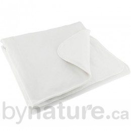 Baby Mattress Pads, Vinyl-Free - White