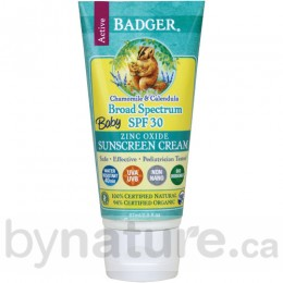 Badger Baby Sunscreen Daily Lotion