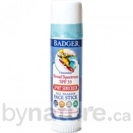Badger Non-Toxic SPF 35, All-Season Face Stick