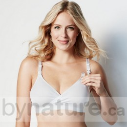 Bravado Original Nursing Bra, White