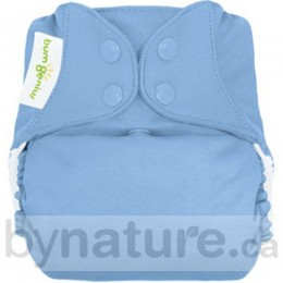 bumGenius Freetime AIO One-Size Cloth Diapers, Twilight