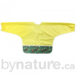 Bummis Best Ever Bib, Sleeved - Forest Animals