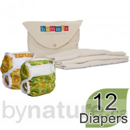 Newborn Cloth Diaper Package