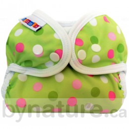 Bummis Simply Lite Diaper Cover, Pistachio Dot