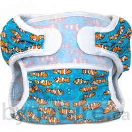 Bummis Swimmi Reusable Swim Diapers, Clown Fish