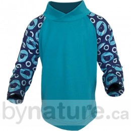 Bummis UV-Tee with UPF 30, Whales
