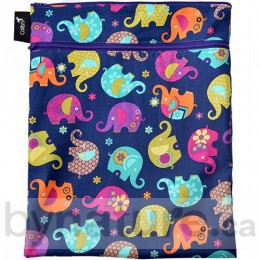 Colibri Double Duty Wet Bag, Elephants