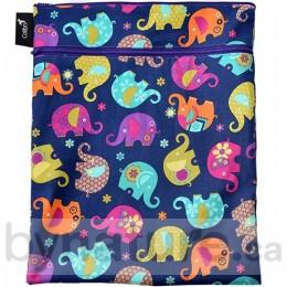 Colibri Double Duty Wet Bag, Elephants