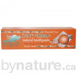 Green Beaver Natural Toothpaste, Zesty Orange