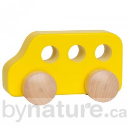 Little Wooden Toy School Bus