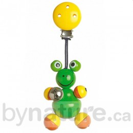 Heimess Wood Toy Figurine Clip, Frog