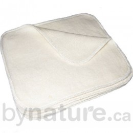 Hemp Organic Cotton Cloth Baby Wipes (12pk)