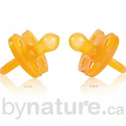 Natural Rubber Pacifier, Rounded (Crown)