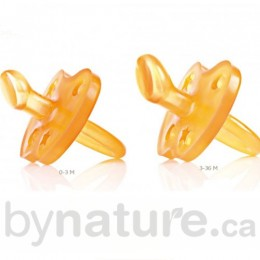 Natural Rubber Pacifier, Ortho (Moon&Stars)