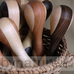 Heirloom Wooden Baby Rattles