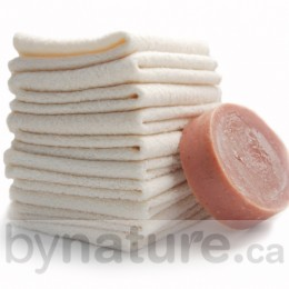 Organic Cotton Cloth Baby Wipes (sold as a 5pk; soap not included)