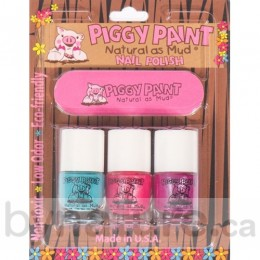 Piggy Paint Nail Polish, Mini Starter Set