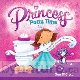 Princess Potty Time, Board Book