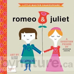 Little Master Shakespeare - Romeo & Juliet, BabyLit Board Book