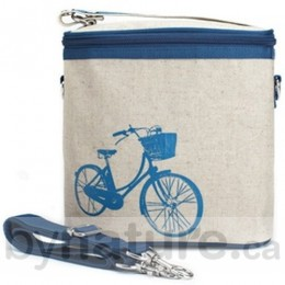 SoYoung Mother Cooler Bag, Large - Blue Bicycle