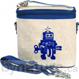 SoYoung Mother Cooler Bag, Blue Robot