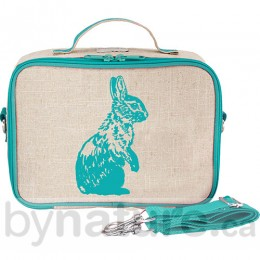So Young Mother Lunch Box, Aqua Bunny