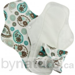 Stay-Dry Cloth Menstrual Pads (3pk) - Paisley