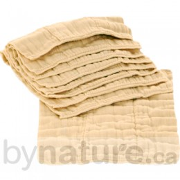 Indian Unbleached Prefolds