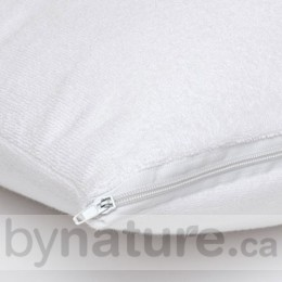 Waterproof Pillow Protector for Queen Pillow, Vinyl-Free