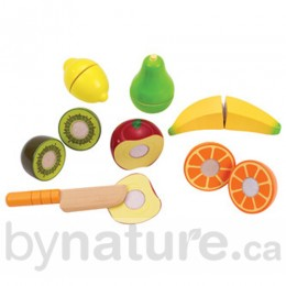 Wooden Play Food Fruit