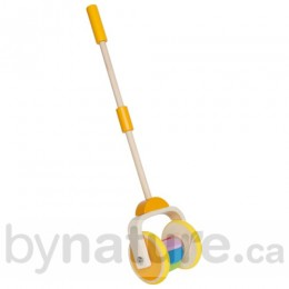 Wooden Push Toy, Rainbow