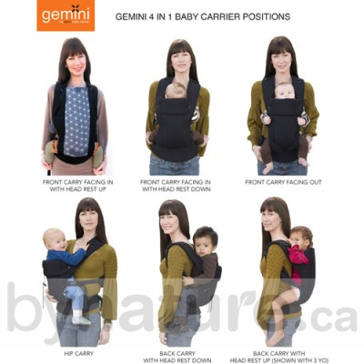 27565225e03 ... The Gemini Beco Baby Carrier Carrying Positions ...