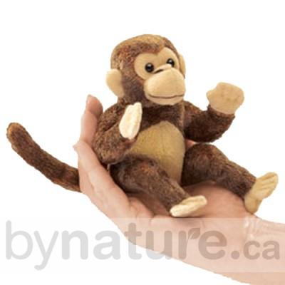 Mini Monkey Finger Puppet