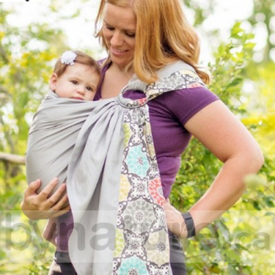 Sewfunky Adjustable Ring Sling Sewfunky Baby Sling Canada