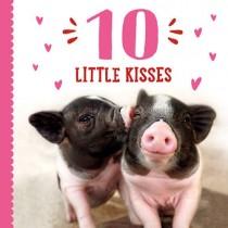 10 Little Kisses, Board Book