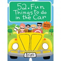 52 Fun Things to Do in the Car Cards