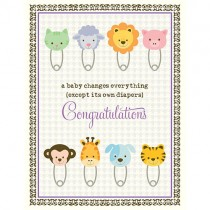 Baby Changes Everything Greeting Card