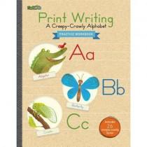 Print Writing : A Creepy-crawly Alphabet