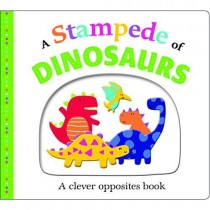 A Stampede of Dinosaurs, Board Book