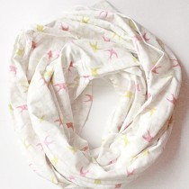Acorn & Leaf Infinity Scarf, Adult - Blushing Birds