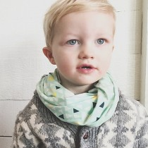 Acorn & Leaf Infinity Scarf, Child