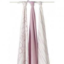 Aden & Anais Bamboo Muslin Swaddling Blankets, Tranquility