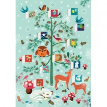 Advent Calendar Cards, Winter Critters