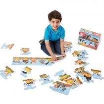 Floor Puzzle, Alphabet Train