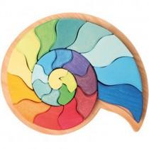Grimm's Figurative Puzzle, Large Ammonite Snail