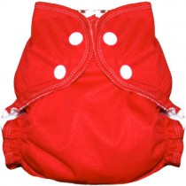 AMP Cloth Diapers, AIO Snap - Red