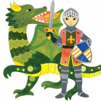 Articulated Paper Dolls, Knight Adventures