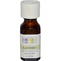 Aura Cacia 100% Pure Essential Oil, Lavender